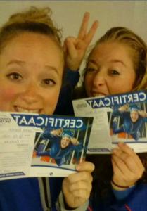 Sarah & Anna met certificaat