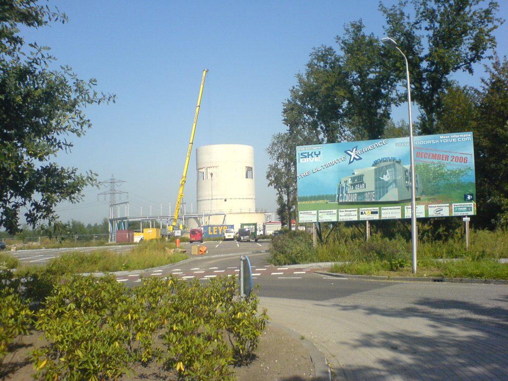 Indoor Skydive Roosendaal bouw