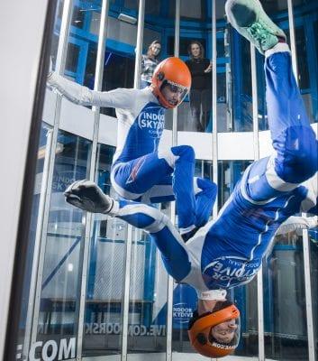 Breakdance battle bij Indoor Skydive Roosendaal