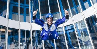 Een nieuwe verslaving: Indoor Skydiven
