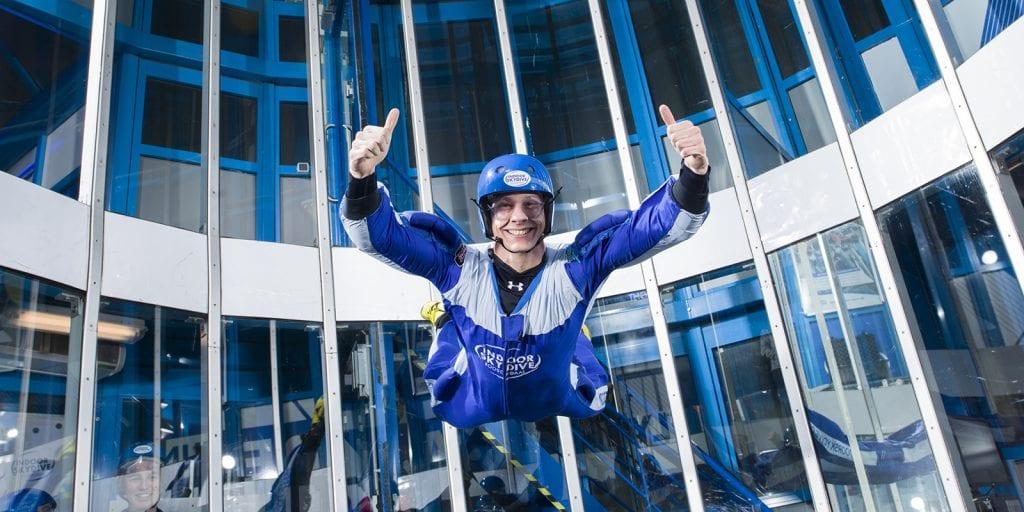 indoor skydive exclusieve tunnelhuur