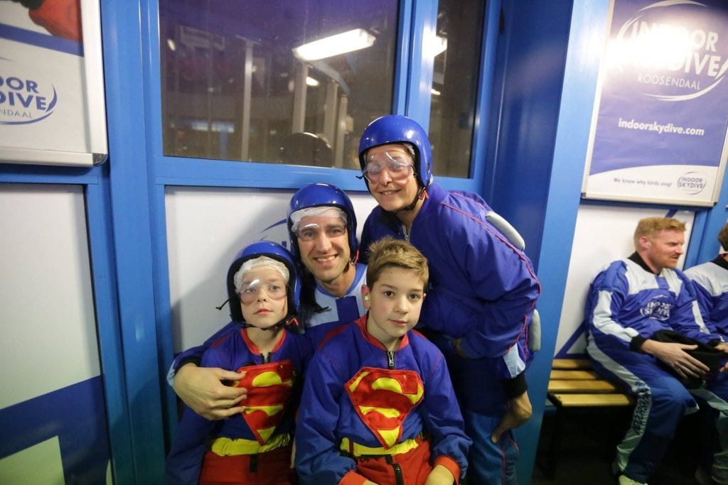 Stichting Buddies_indoor skydive Roosendaal