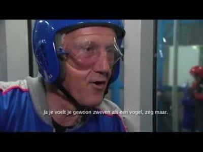 De leukste reacties van 10 jaar Indoor Skydive Roosendaal!