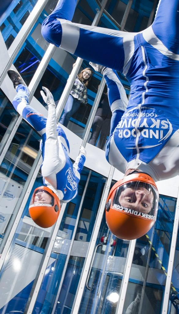 indoor skydive frequent flyers