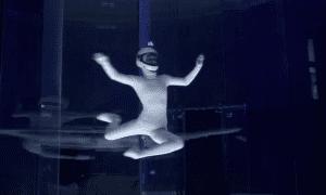 indoor skydiver