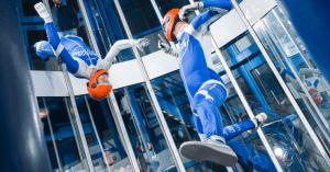 Indoor Skydive Roosendaal 2tunnel wedstrijd