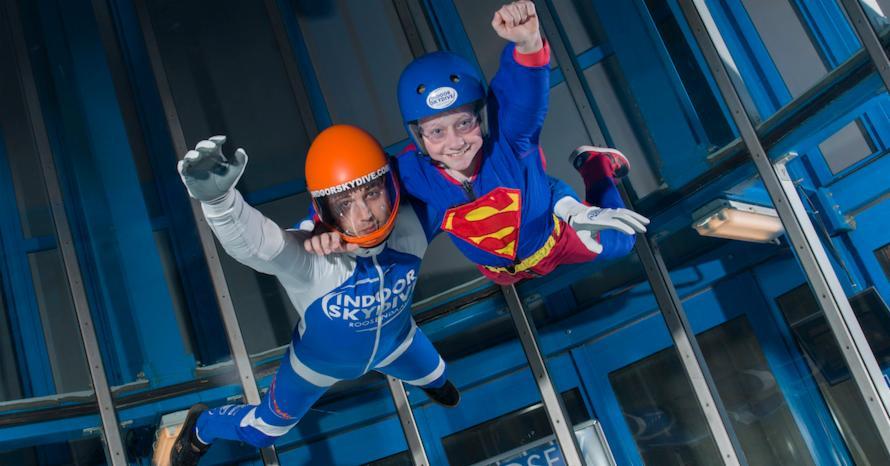 Werkdag van een indoor skydive instructeur