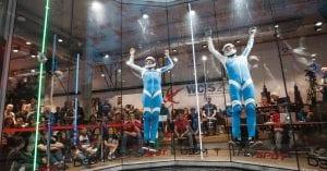 Rick Verbunt en Joey van Gils World Cup Indoor Skydiven