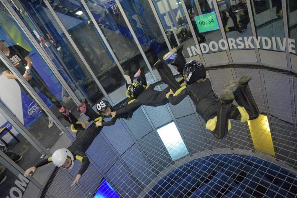 Indoor Skydive event