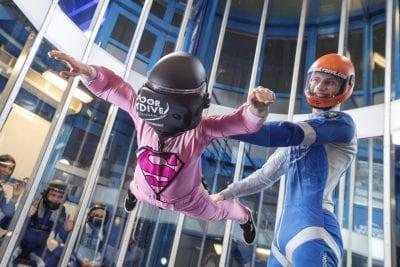 Nieuw bij Indoor Skydive Roosendaal: indoor skydiven met VR!