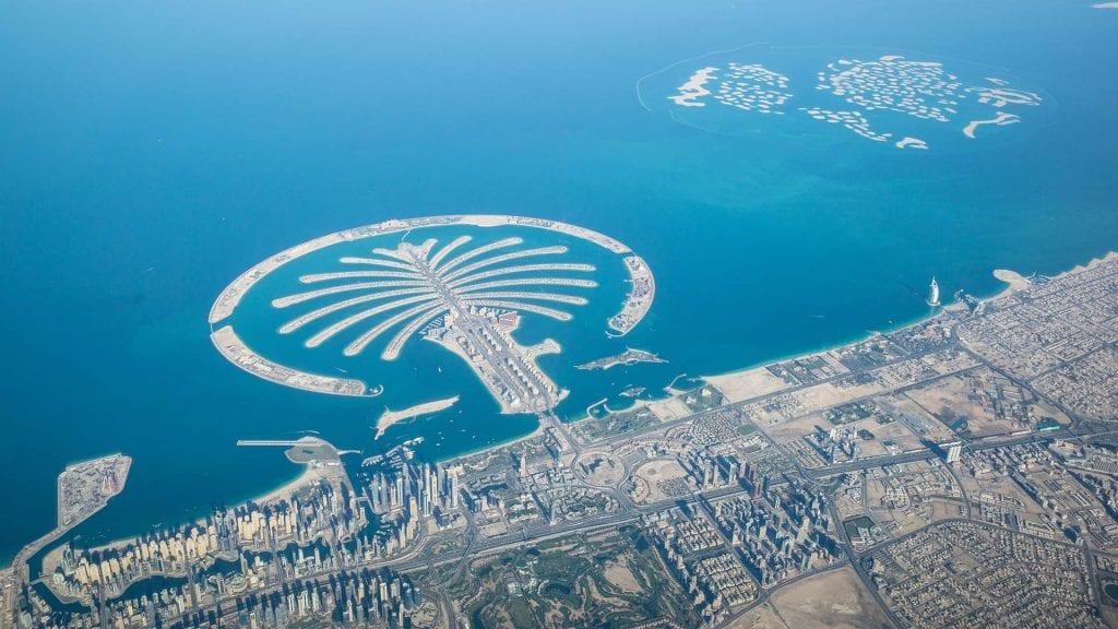 Dubai - mooiste skydive locatie