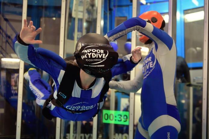 Lancering indoor skydive vr BN DeStem