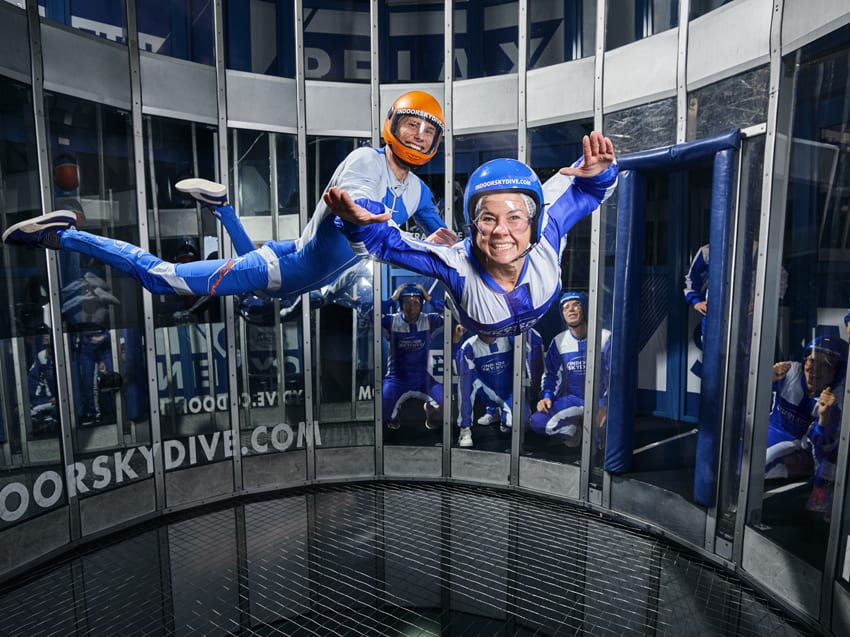 Indoor Skydiven - Indoor Skydive Roosendaal