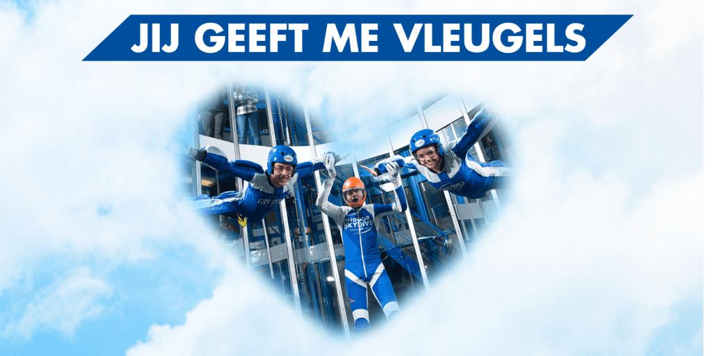 Valentijnsdag - Indoor Skydive Roosendaal