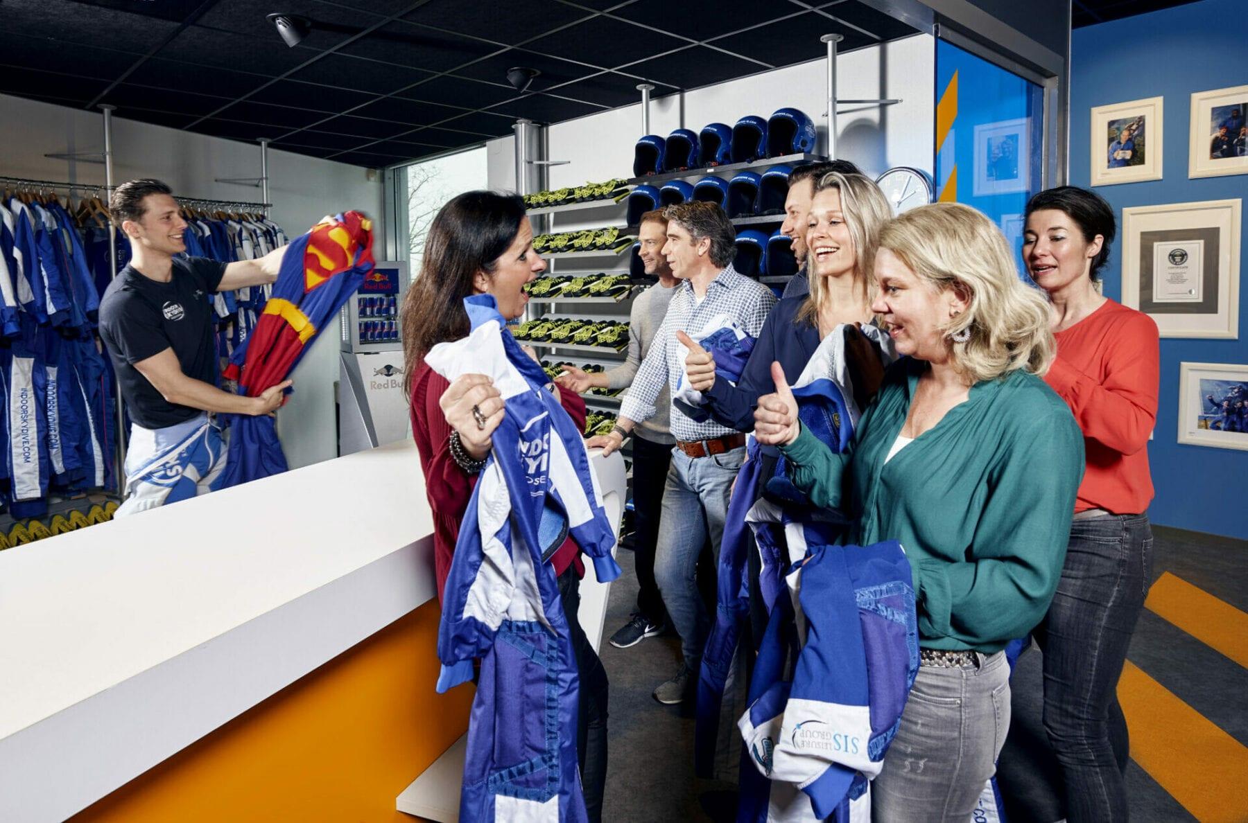 Personeelsvereniging - Indoor Skydive Roosendaal