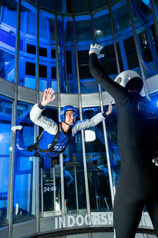 Een dag van een Indoor Skydive instructeur!