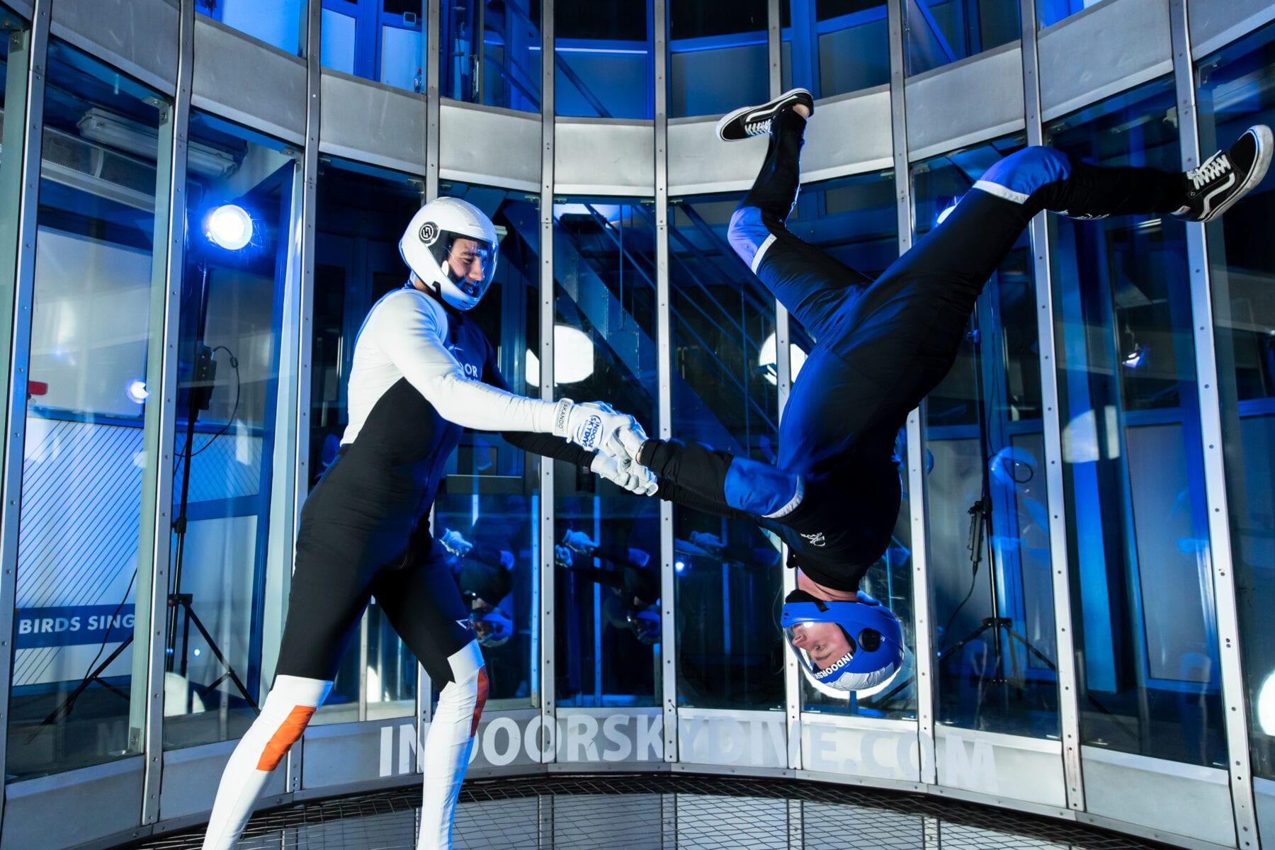 Hoe word je TunnelInstructor (TI) bij Indoor Skydive Roosendaal