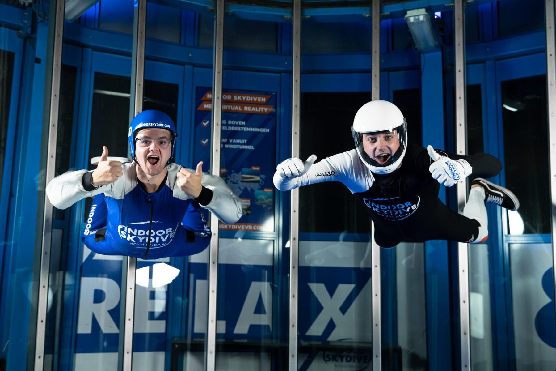 Wat zijn de meest voorkomende vragen van bezoekers van Indoor Skydive Roosendaal?