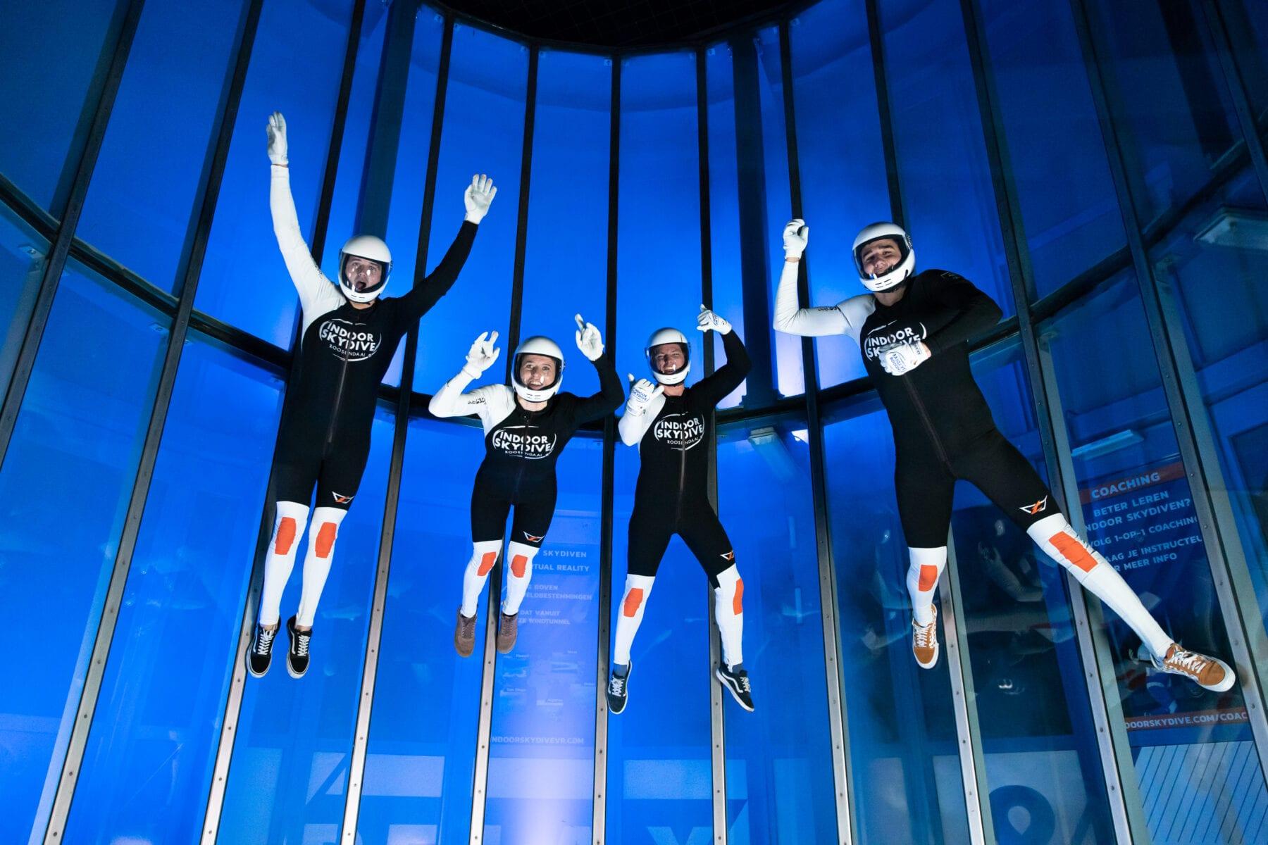 Hoe werkt de windtunnel van Indoor Skydive Roosendaal?